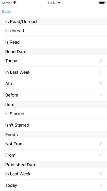 Feedbag screenshot-4