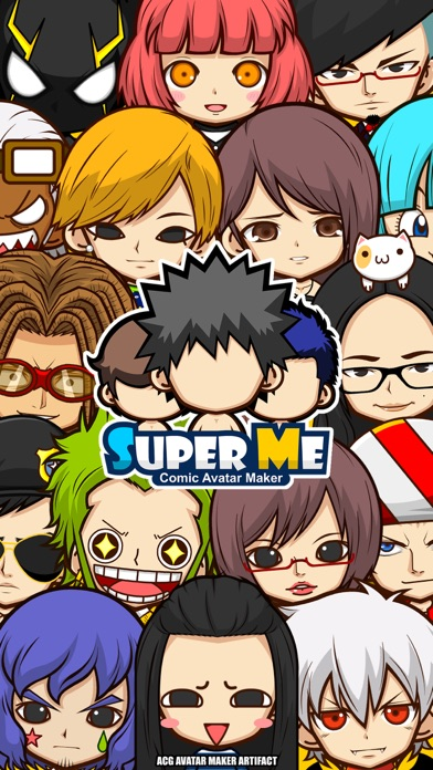 SuperMe—Make comic avatar screenshot one