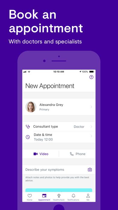 Screenshot for Babylon: Doctors & Advice in Denmark App Store