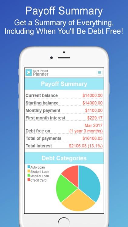 Debt Payoff Planner & Tracker