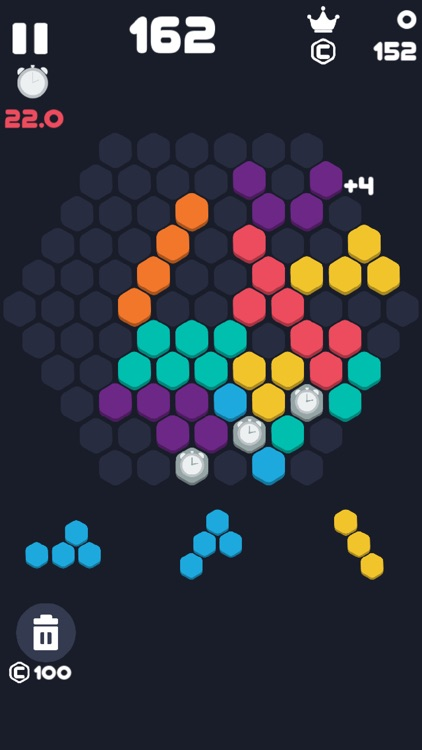 Hex Fill : 1010 Blocks Puzzle screenshot-3