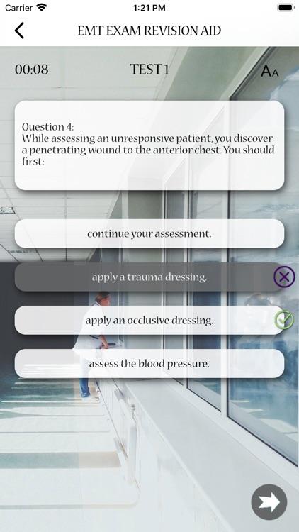 EMT Exam Revision Aid screenshot-5