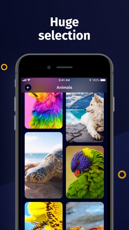 Live wallpaper - Moving Themes
