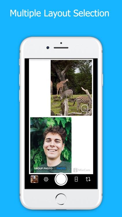 MixCam: Front & Back Camera