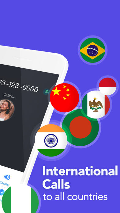 TalkU: Unlimited Calls + Texts Screenshot