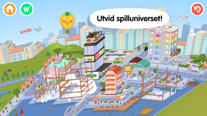 Screenshot for Toca Life: World in Norway App Store