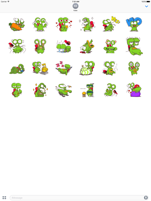 Weird Snail - Funny Sticker screenshot 5