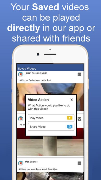 Video Player for Facebook