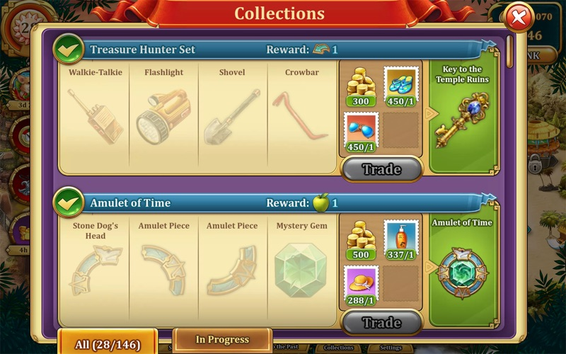 Solitaire Treasures of Time screenshot 4