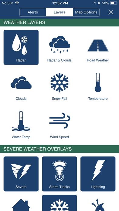 Screenshot for NOAA Hi-Def Radar Pro in United States App Store