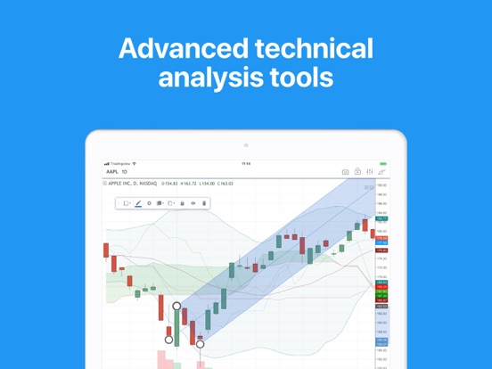 TradingView by TradingView (iOS, United States) - SearchMan