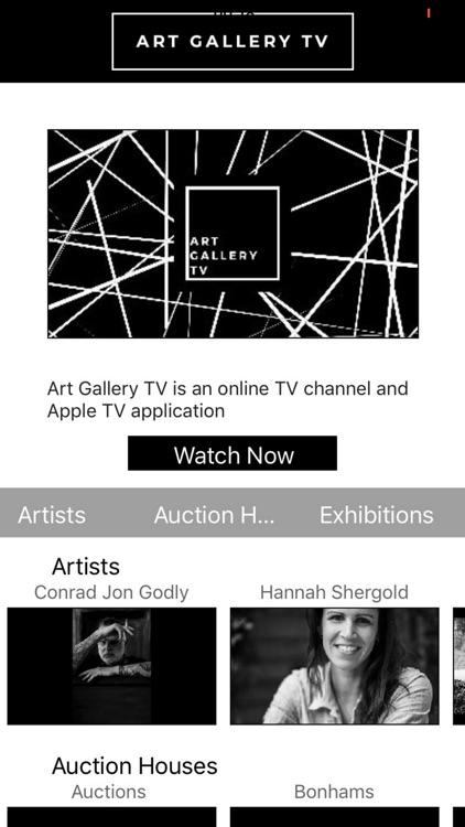 Art Gallery TV