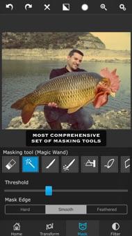 Superimpose iphone images