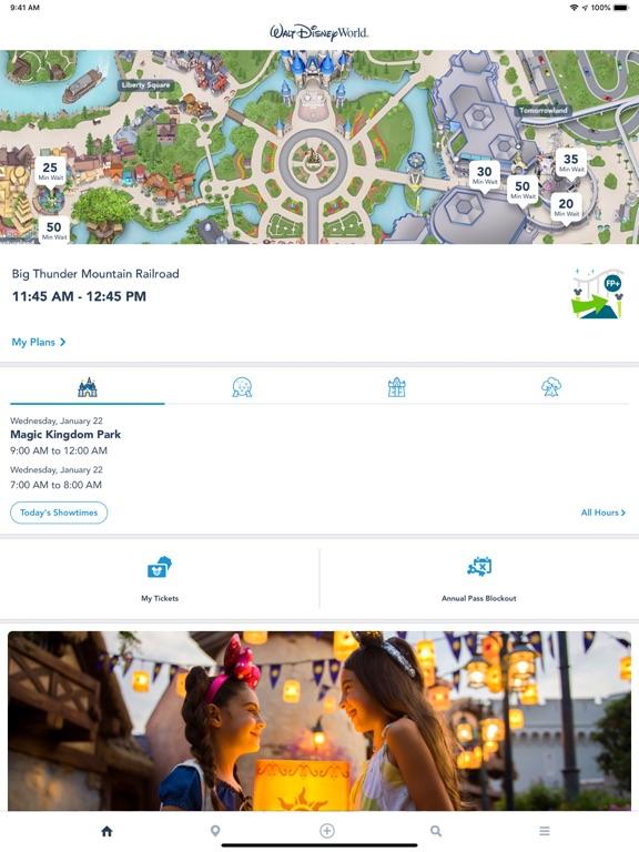 My Disney Experience - Walt Disney World screenshot