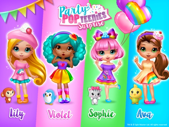 Party Popteenies Surprise на iPad