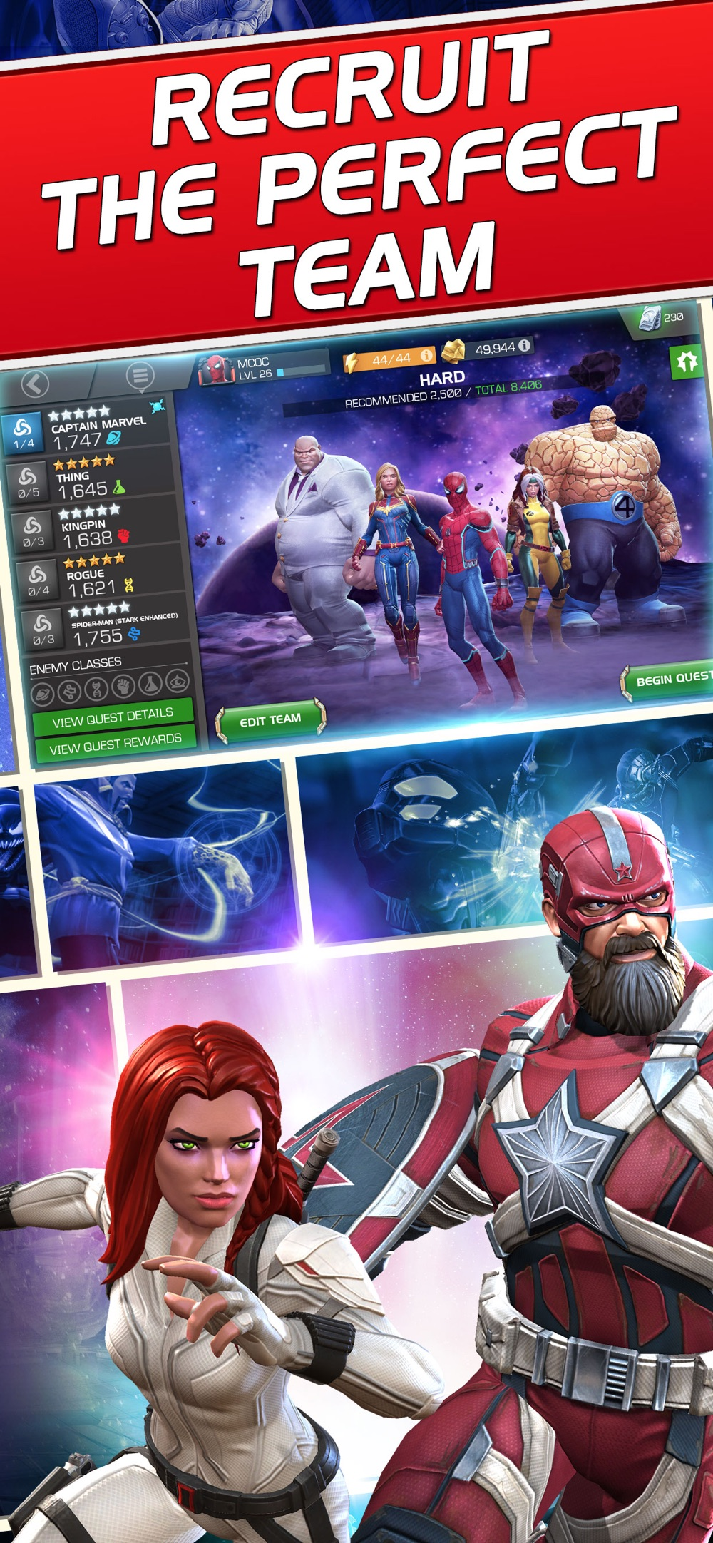 Marvel Contest of Champions Cheat Codes