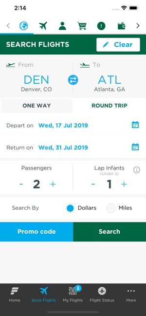Frontier Airlines on the App Store