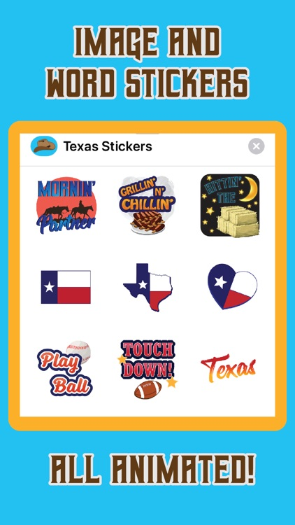 Funny Texas Animated Stickers screenshot-4