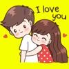 Love & Romance Couple Stickers