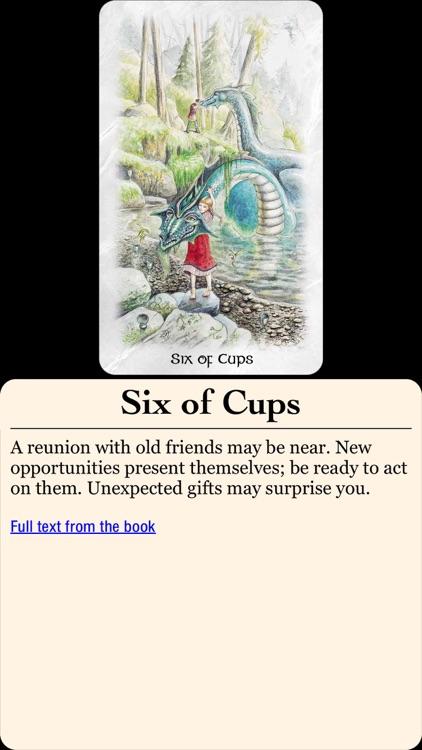The Celtic Dragon Tarot screenshot-3