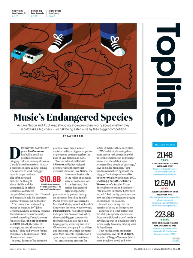 Billboard Magazine on the App Store