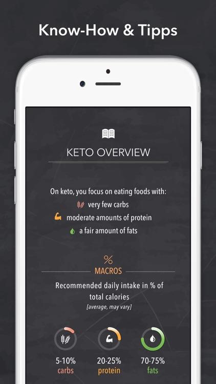 Keto diet & Ketogenic recipes screenshot-6
