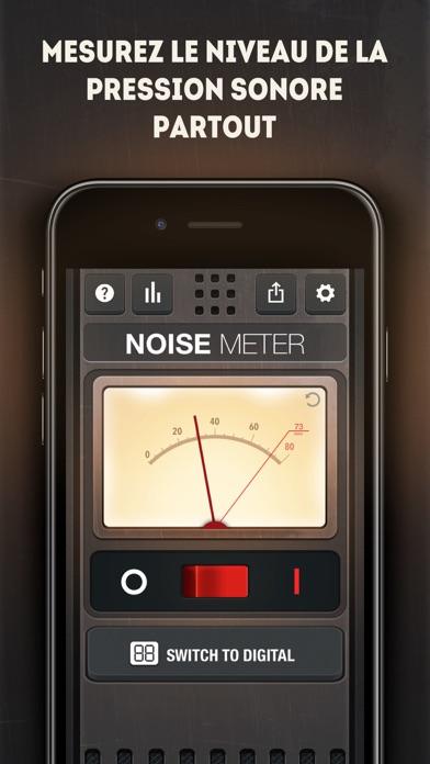 Screenshot #1 pour Sonomètre - Mesure Décibel