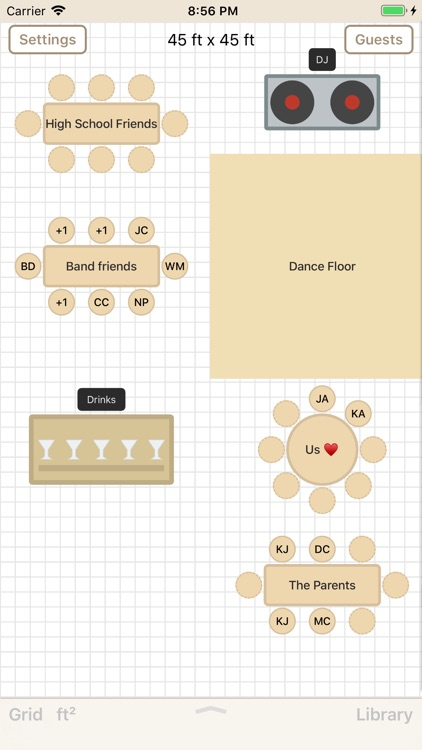 Seat Puzzle for Floor Plans screenshot-0