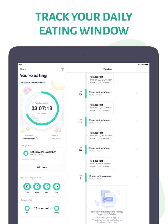 Window - Intermittent Fasting screenshot