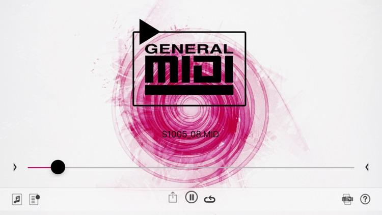 GM MIDI Player screenshot-4