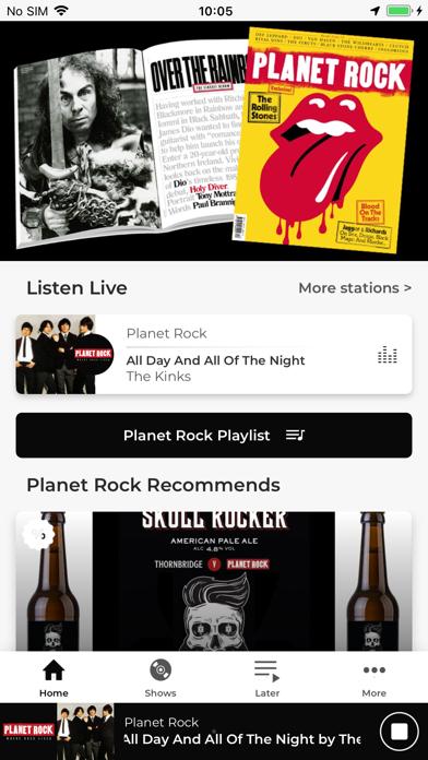 Planet Rock screenshot one