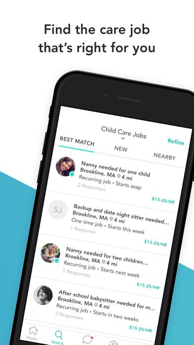 Care.com Caregiver: Find Jobs Screenshot
