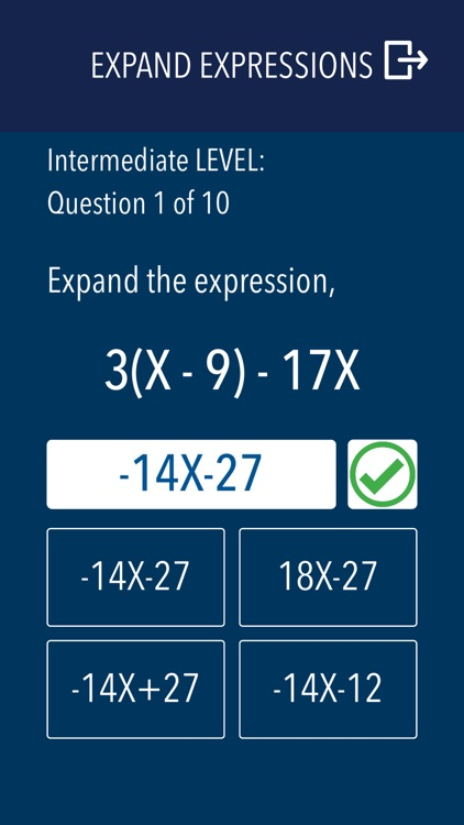 Algebra - Practice and prep screenshot-6