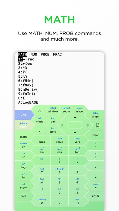 HyperCalc Graphing Calculator screenshot 3
