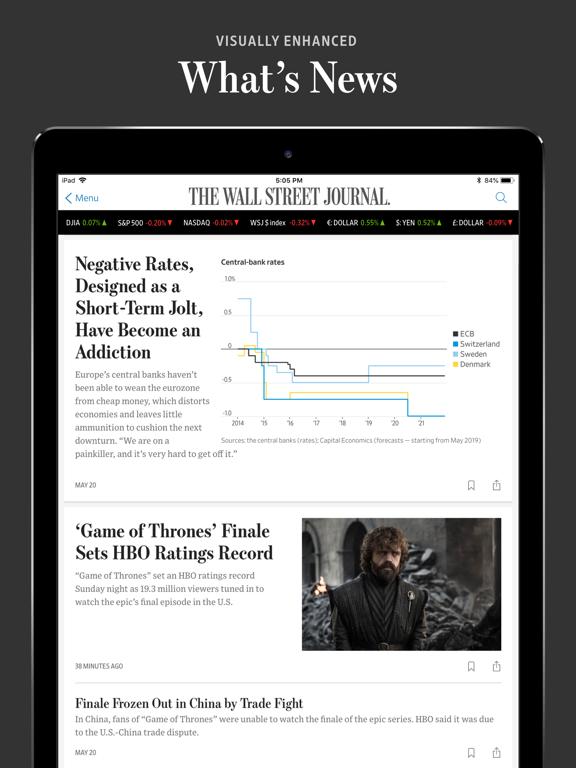 The Wall Street Journal.のおすすめ画像1