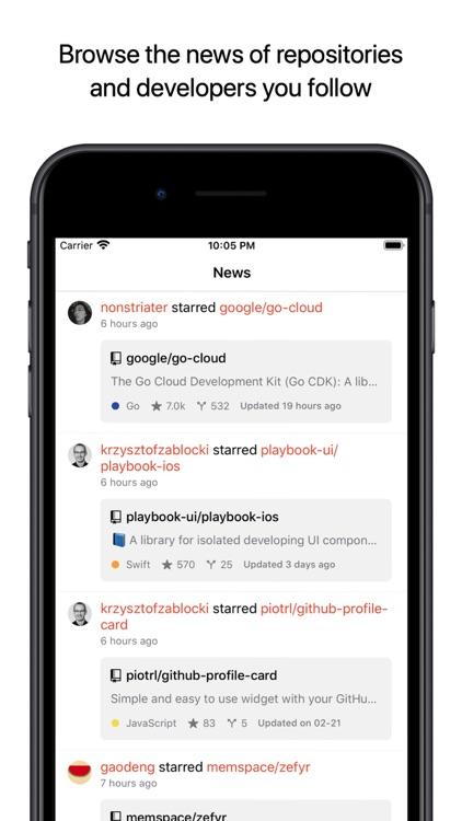 Coderx for GitHub screenshot-0