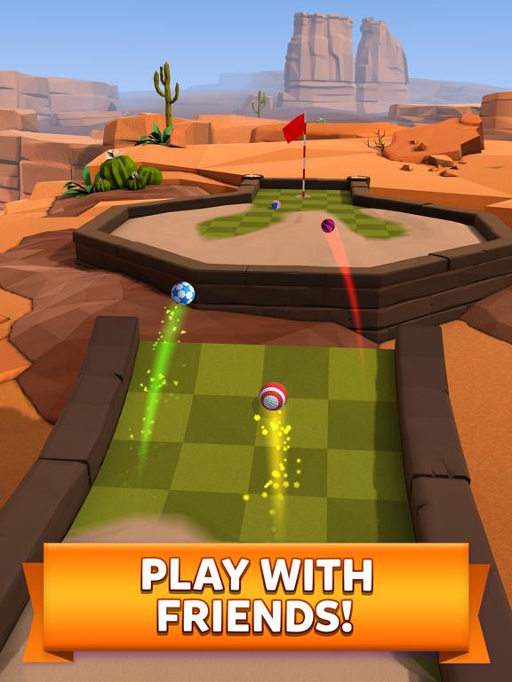 Golf Battle iPad app afbeelding 2