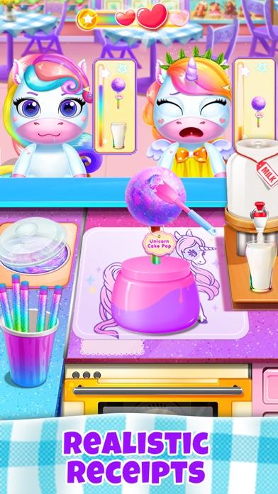 ユニコーンレストラン:フードゲームのおすすめ画像4