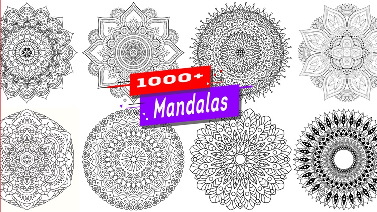 Mandala Color Book Game For Me