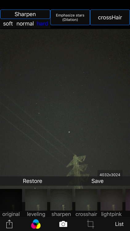 Starry sky Camera screenshot-2