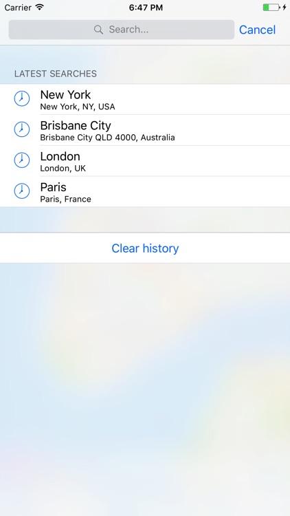 E-walk - Offline maps screenshot-4