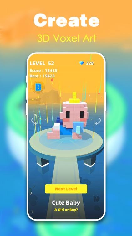 Fire Cubes 3D - Craft island screenshot-3