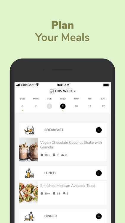 SideChef: Recipes+Meal Planner screenshot-3