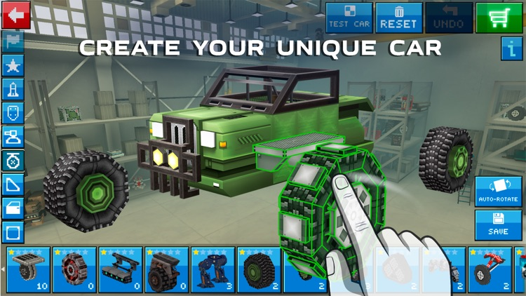 Blocky Cars Online - tank wars screenshot-0