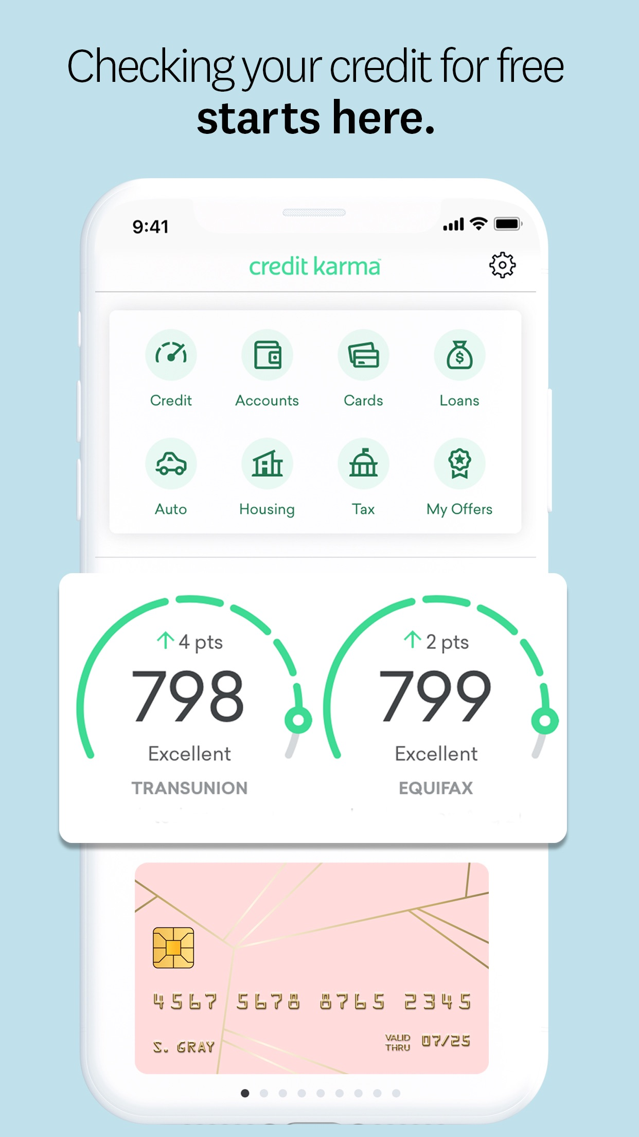 Credit Karma Screenshot