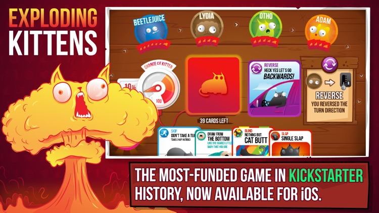Exploding Kittens® screenshot-0