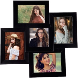 Multi Pic Frames Collage