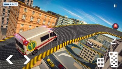 救急車 ルーフ ジャンピング ゲームのおすすめ画像3