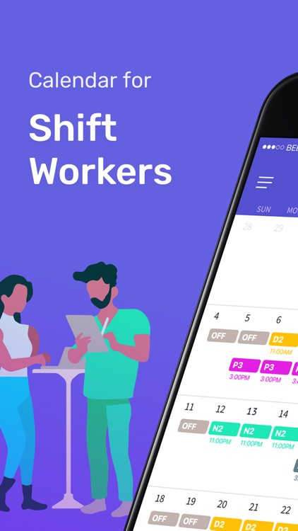 Shift Days - Work Tracker