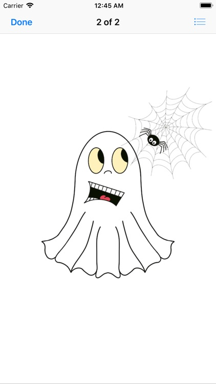Cute Halloween Ghost stickers screenshot-3